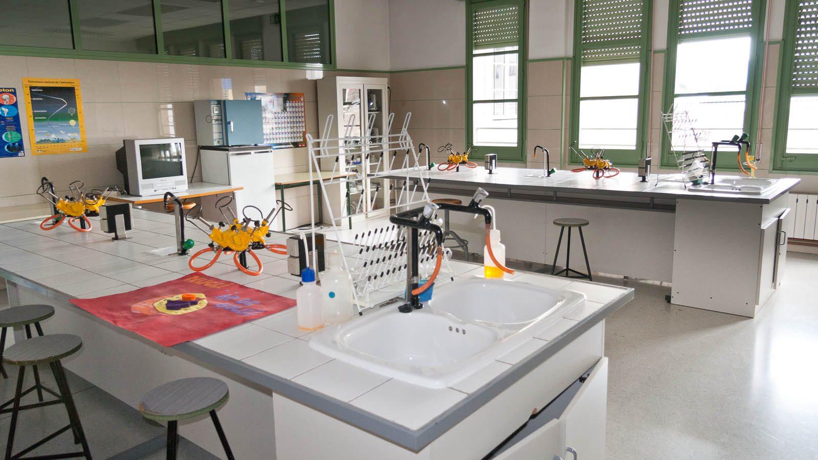 Laboratori de biologia