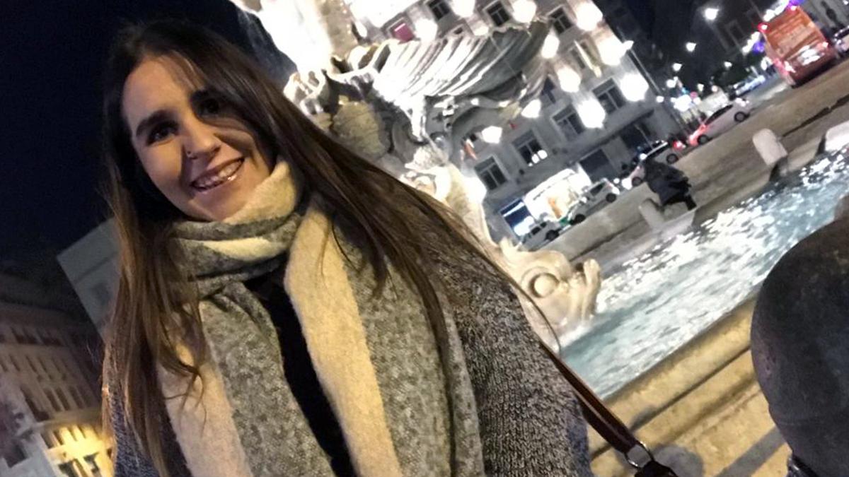 L'Anabel Rodríguez a Roma