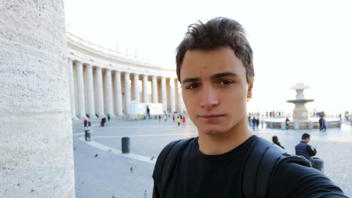 L'Ignasi Prat a Roma